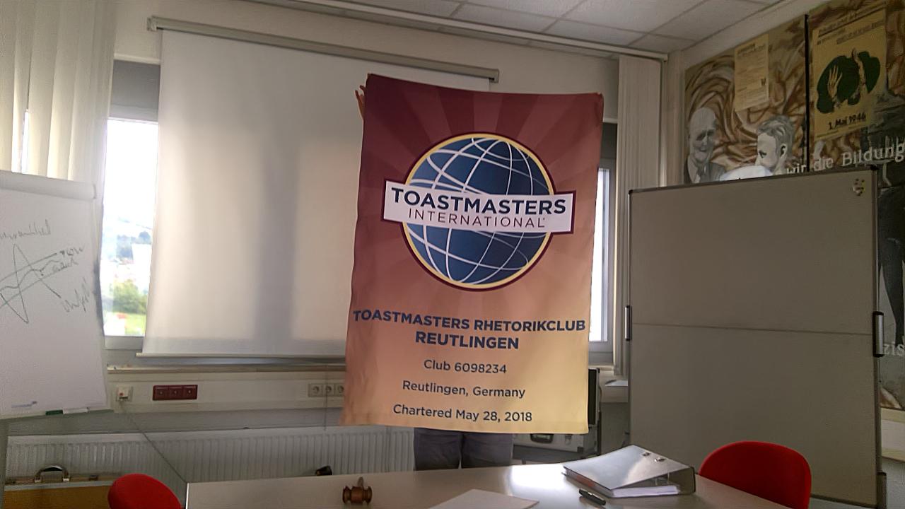 Flage Toastmasters Rhetorikclub Reutlingen