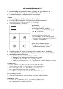 Erste Seite weitere Bewertungsvorlage