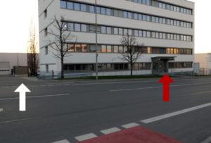 Anleitung Bild 1 Eingang+Einfahrt